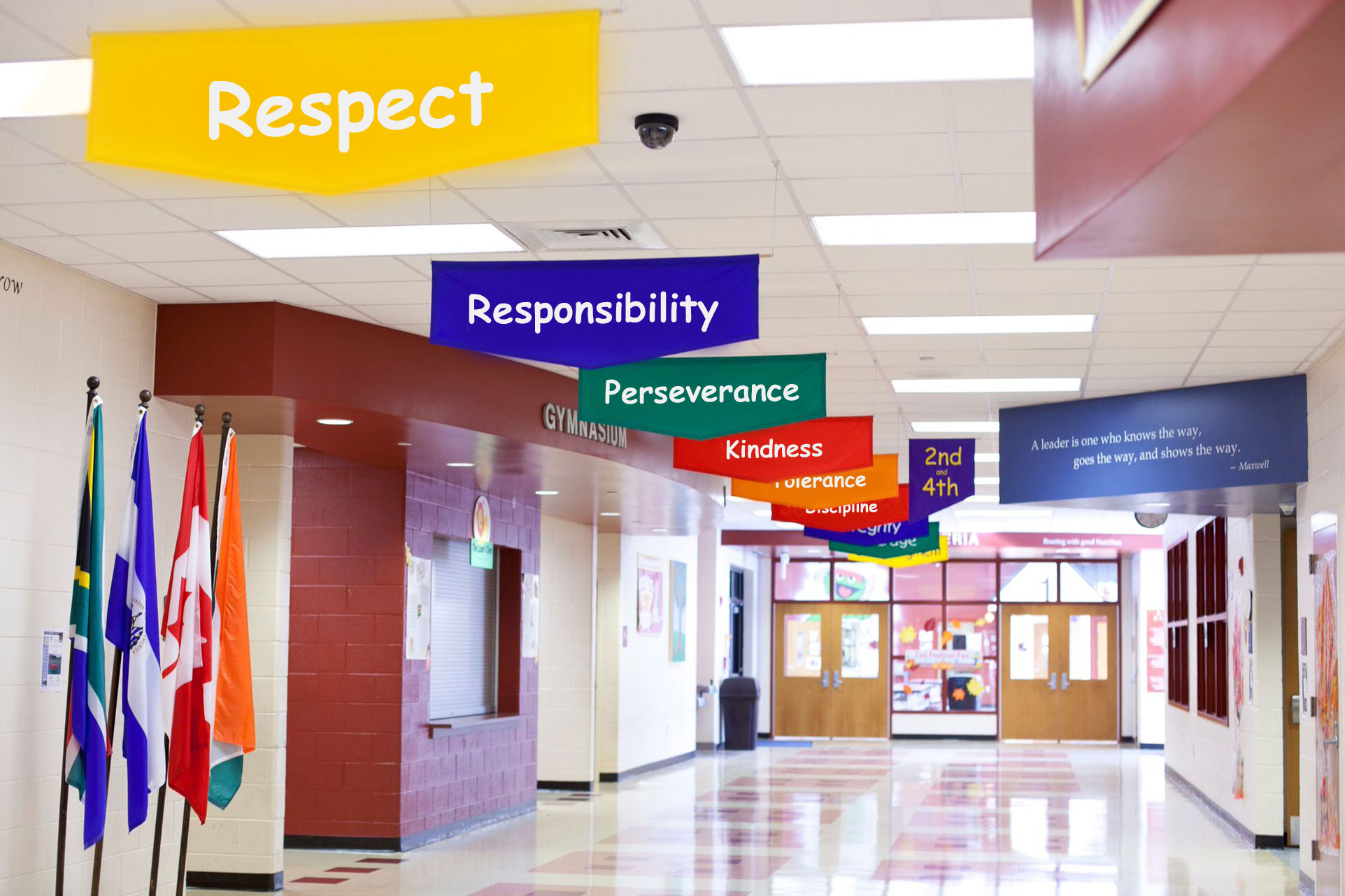 Character Trait Education School Banners